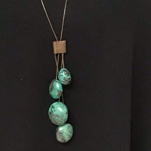 Turquoise Colored Marble Stones Necklace?